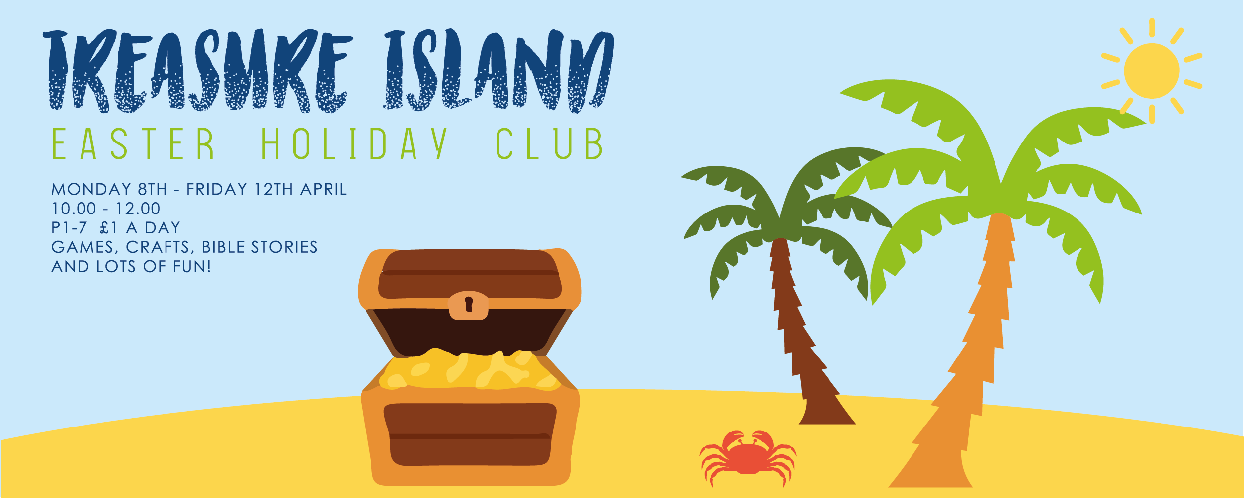 Treasure Island Holiday Club artwork