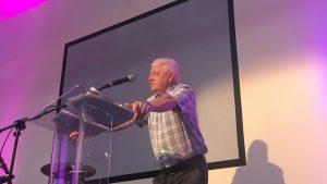 John Aitken speaking at KCC